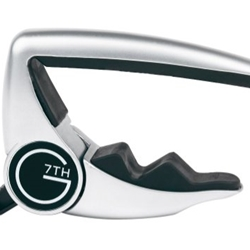 G7th Performance 2  for 6 string Guitar Silver Guitar Capo