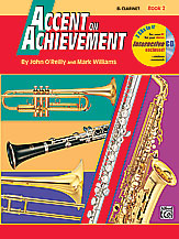 Accent on Achievement: Bari Sax, Book 2