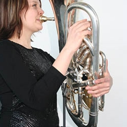 ERGObrass Euphonium Support