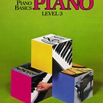 Bastien Piano Basics: Piano, Level 3