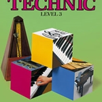 Bastien Piano Basics: Technic, Level 3