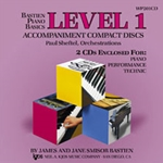 Bastien Piano Basics: Accompaniment CD, Level 1