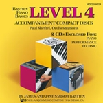 Bastien Piano Basics: Accompaniment CD, Level 4
