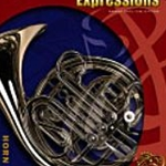 Band Expressions: Horn in F Book 2 w/ CD