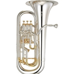 "Yamaha Custom Bb / F Compensating Euphonium; 0.591-0.661"" Bore"