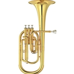"Yamaha Standard Alto Horn; Key of Eb; .462"" Bore; Laquer"