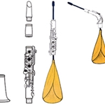 Reka Clarinet and Sax Neck Cleaning Kit