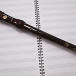 Hohner Soprano Recorder Pear Wood