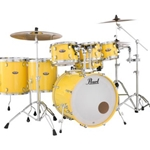 Pearl DMP925SP/C Maple 5 PC Solid Yellow (Shell Pack)