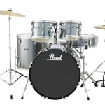 Pearl Roadshow  5pc drumset with Hardware and Cymbals Charcoal Metallic (C706)