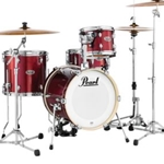 Pearl 4 piece Shell Pack w/PMTBG Bag Set  Black Cherry Glitter (704)